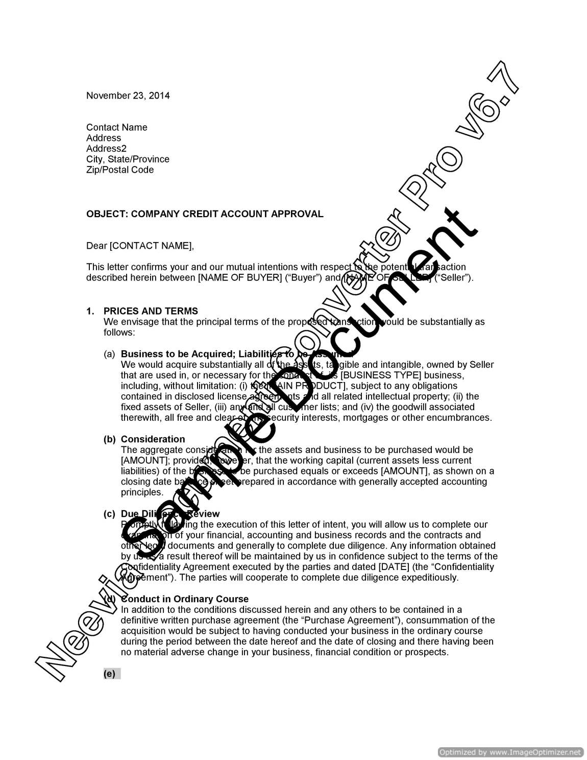 Letter of intent to purchase business teacheng letter spiritdancerdesigns Choice Image